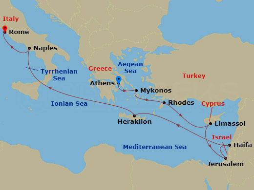 Látogatás Izraelben 2. hajóút