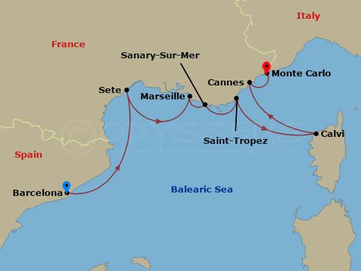 Intenzív francia élmények hajóút