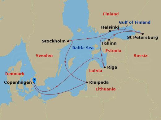 11 NIGHT SCANDINAVIA & RUSSIA CRUISE hajóút