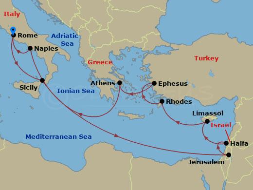 Hajóút a Szentföldre hajóút