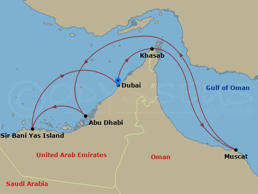 Omán, Dubai hajóút