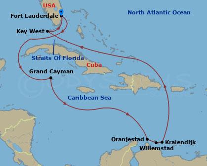 Hajóút az ABC-szigetekre hajóút