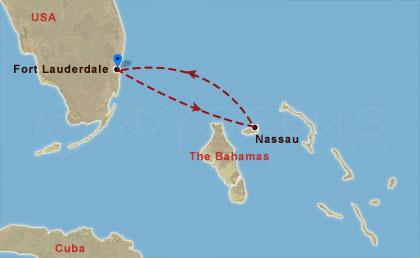 Egy nap a Bahamákon hajóút
