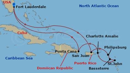 Dél-karib nyaralás hajóút