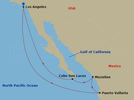 Látogatás Mexikóban hajóút