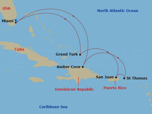Kelet-karib klasszikusok hajóút