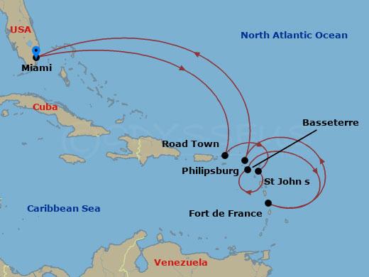 Karibi felfedezések hajóút