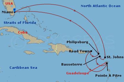 Karácsony a Karib-tengeren hajóút