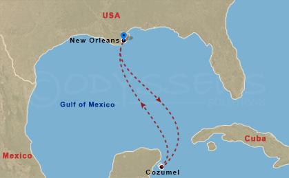 Mexikói kiruccanás hajóút