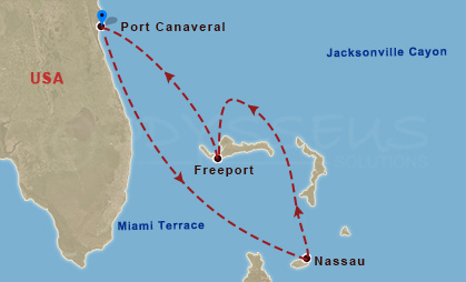 Freeport, Nassau hajóút