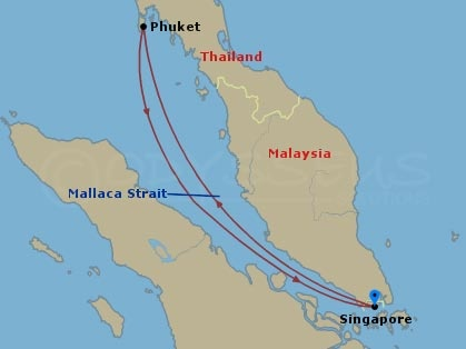 Phuket hajóút