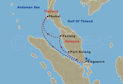 Malájzia, Phuket hajóút