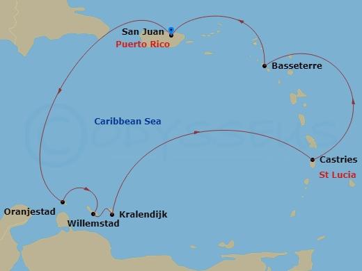 ABC-szigetek hajóút