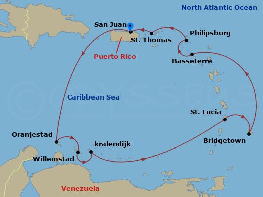 Utazás a Holland Antillákra hajóút