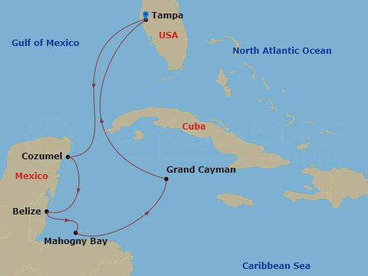 Nyugat-karib hajóút hajóút