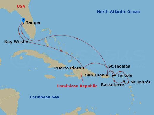 Kelet-karib hajóút hajóút