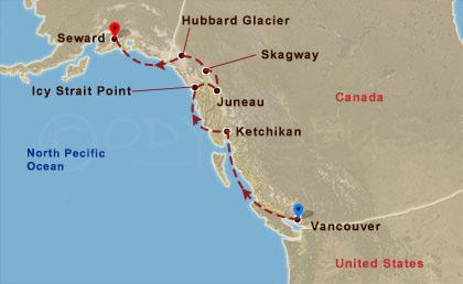 Alaszka megismerése 1 hajóút