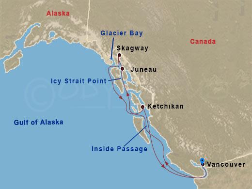 Alaszka aranya hajóút