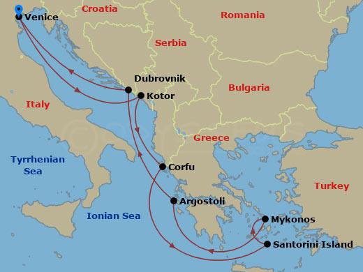 Görög kalandok hajóút