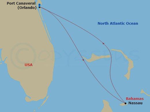 Kiruccanás a Bahamákra hajóút