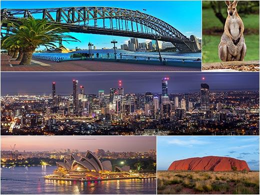 Nagy ausztrál körutazás hajóút