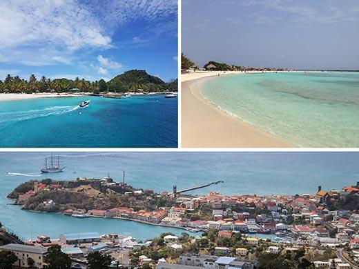 Dél-karib kikötők úticél