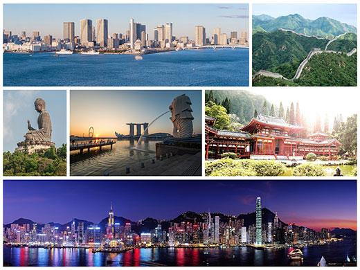 Japán körút úticél