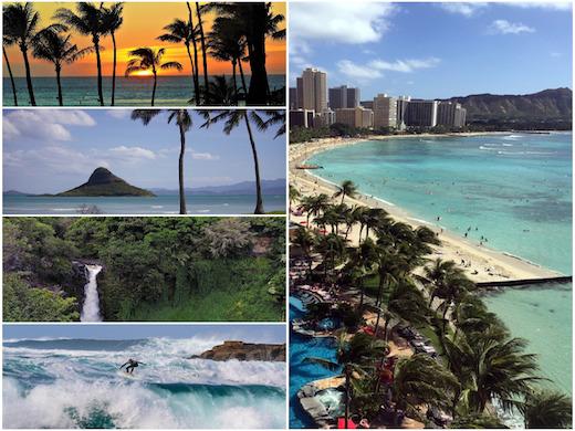 Hajóút a Hawaii-szigetekre úticél