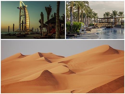 Dubai, Omán úticél